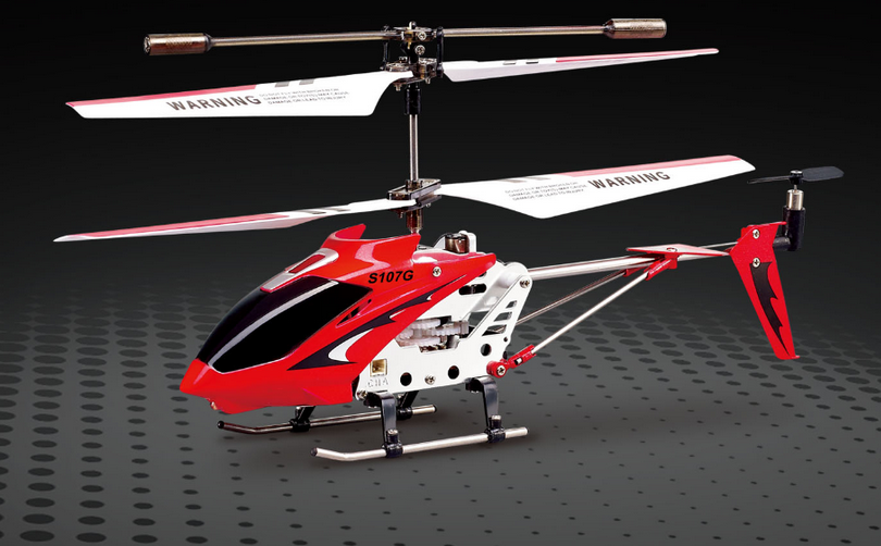 Helicopter Syma S107G Mini Red 3 Channel Infrared Gyro