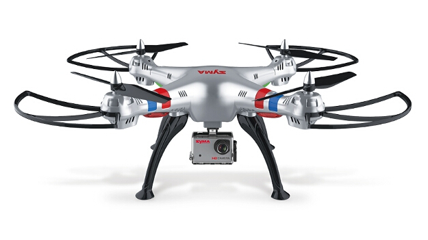 RC Quadcopter Syma X8G 2.4G 6 Axis Headless HD Camera