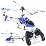 Syma RC Helicopter S107G Mini 3.5 Channel Infrared  with Gyro Blue