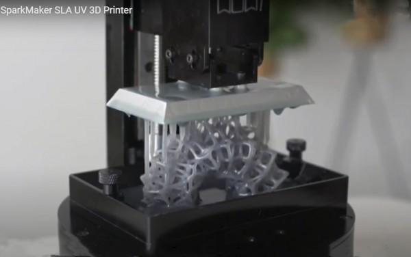 SparkMaker SLA UV 3D Printer tomtop